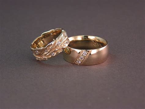 custom dew drop wedding rings