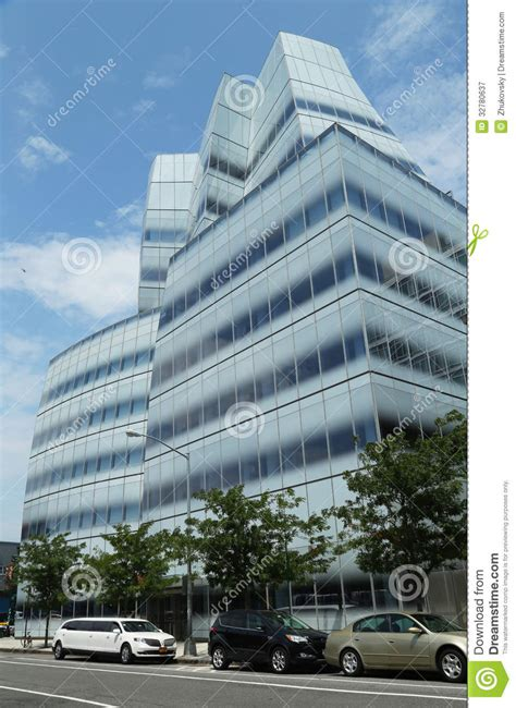 iac headquarters building by frank gehry in chelsey