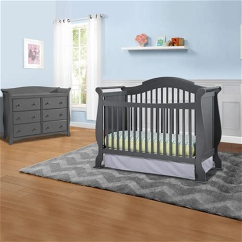 storkcraft avalon 6 drawer dresser gray storkcraft valentia 2 piece nursery set convertible crib
