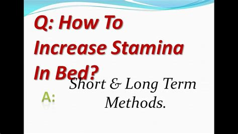how to improve stamina in bed maxresdefault jpg