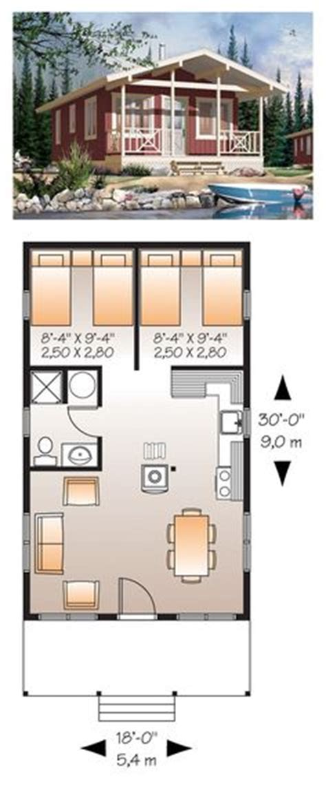 micro compact home floor plan small bunk house plans possibilities guests of guests