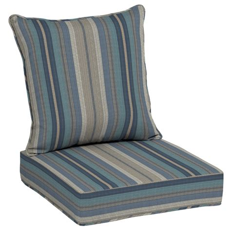Seat Patio Chair Cushions - allen roth neverwet 2 seat patio chair