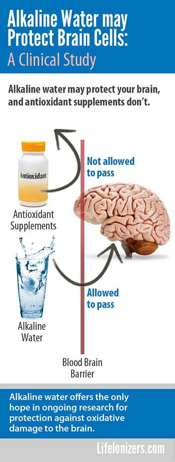 Alkaline Detox To Cleanse Cells by Alkaline Water May Protect Brain Cells Study Benefits Of
