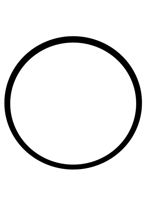 Circle Black Outline by Basic Circle Outline Free Stock Photo Domain Pictures