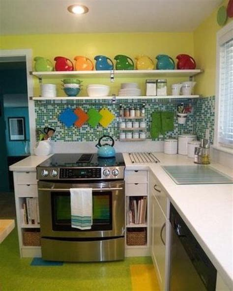 red and yellow kitchen ideas small kitchen designs in yellow and green colors