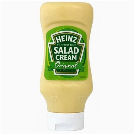 Heinz Salad Cream Top Down 425g (squeezy)