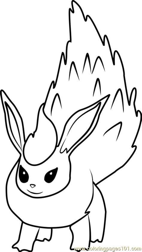 pokemon coloring pages flareon flareon pokemon go coloring page free pok 233 mon go