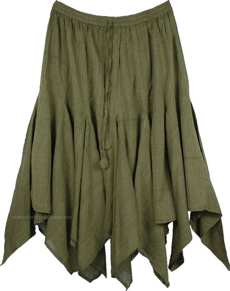 hanky hem skirt hemlock bohemian hanky hem skirt clothing