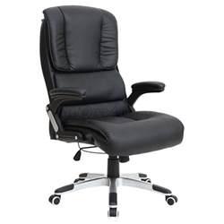 Comfortable Swivel Desk Chair Santiago Comfortable Faux Leather Office Swivel