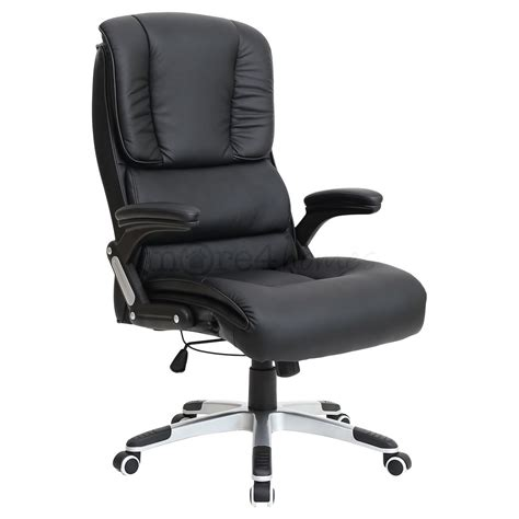 santiago comfortable faux leather office swivel