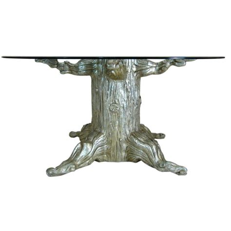 Tree Trunk Dining Table With Glass Top Tree Trunk Dining Table By David Barrett Trees David And Coffee Tables