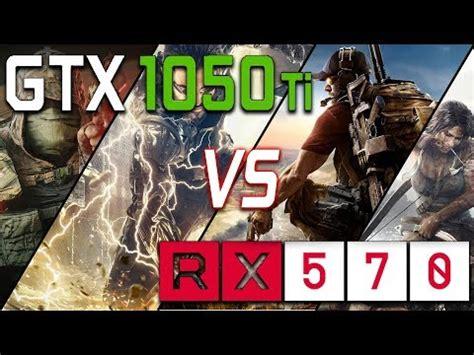 rx 570 (4gb) vs gtx 1050 ti comparison | doovi