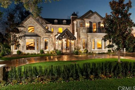 5 8 million newly built french country inspired mansion in arcadia ca homes of the rich
