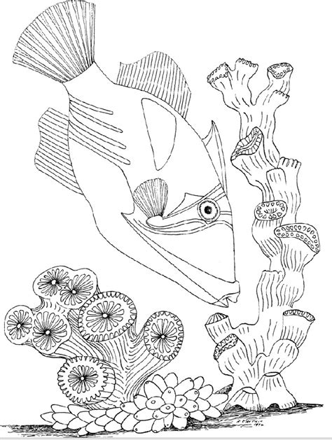 free coloring pages of underwater