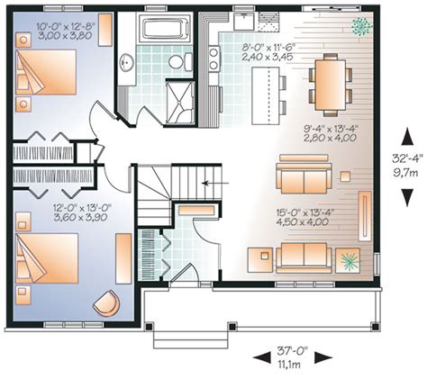 clarendon homes floor plans clarendon 9521 2 bedrooms and 1 5 baths the house designers