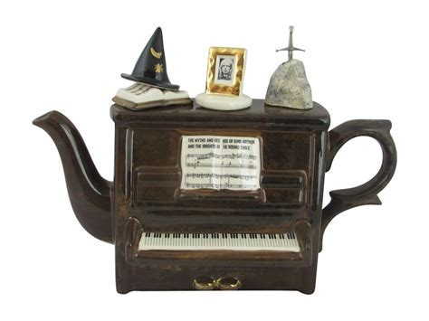 Rick Wakeman Piano Collectable Teapot Now Available