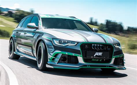 Audi Tuner Abt by German Tuner Abt Unleashes 1 000bhp Audi Rs6 Avant