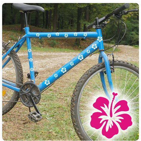 Fahrrad Aufkleber Hibiskus by Hibiskus Hibiscus Blume Bl 252 Ten Fahrrad Aufkleber