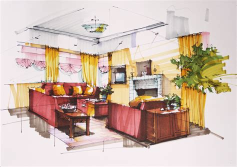 interior design drawing  getdrawings