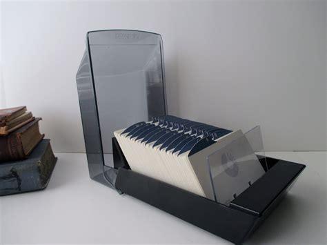 Vintage Desk Organizer Vintage Desk Organizer Rolodex Black Plastic Model Vip24c