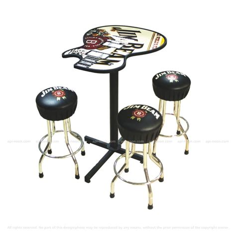 jim beam bar stools jim beam table and stools 187 api