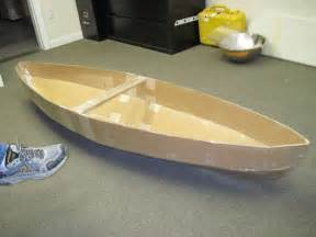 cardboard model boat template how to make a cardboard canoe for your in the pool 5