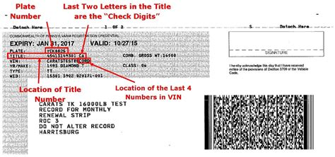 Pa Number Search Where Title Number