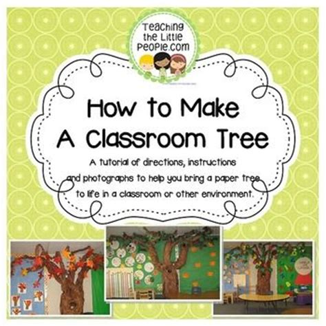 How To Make A Paper Tree For A Classroom - 17 best images about classroom library on high