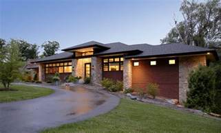 Prairie Style Homes by Prairie Style Home Contemporary Exterior Detroit