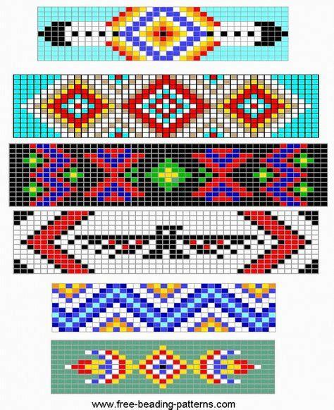 indian bead weaving patterns on loom beading guitar straps
