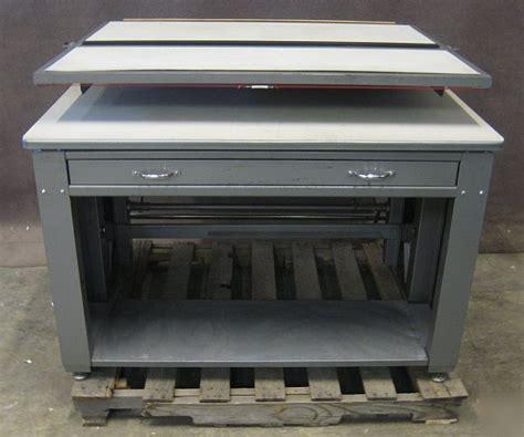 mayline drafting table parts mayline may o matic adjustable wooden drafting table