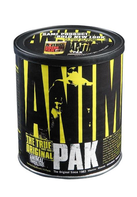 Universal Nutrition Animal Pack 15 universal nutrition