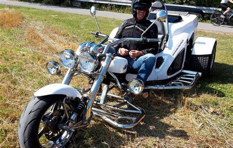 My Days Motorrad Fahren by Trike Fahren In Gro 223 Lafferde Als Geschenkidee Mydays