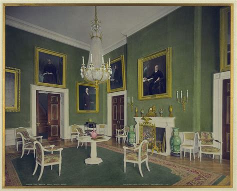 the green room the green room white house