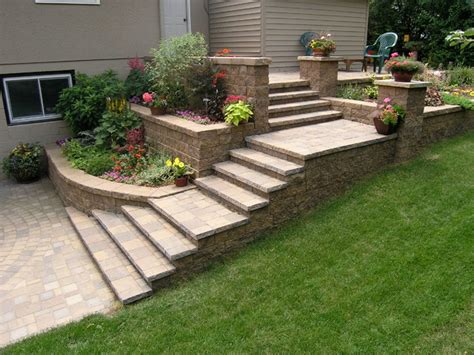 landscaping stairs stairs traditional landscape minneapolis by versa
