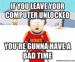 Are You To Your Computer by If You Leave Your Computer Unlocked