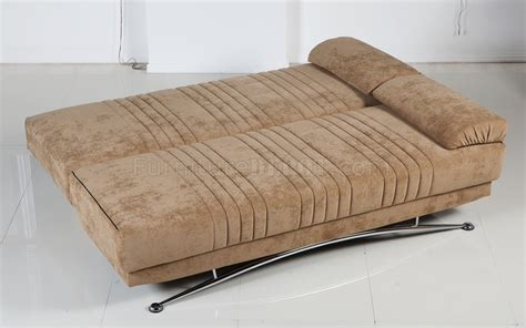 soft sofa bed soft brown microfiber modern convertible sofa bed w storage