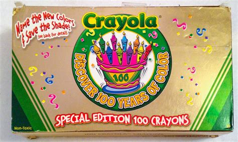 Crayola Special Edition 100 Count Crayons: What's Inside