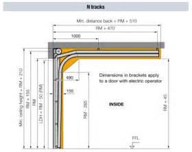Low Headroom Garage Door Track Overhead Sectional Door Track 2015 Personal