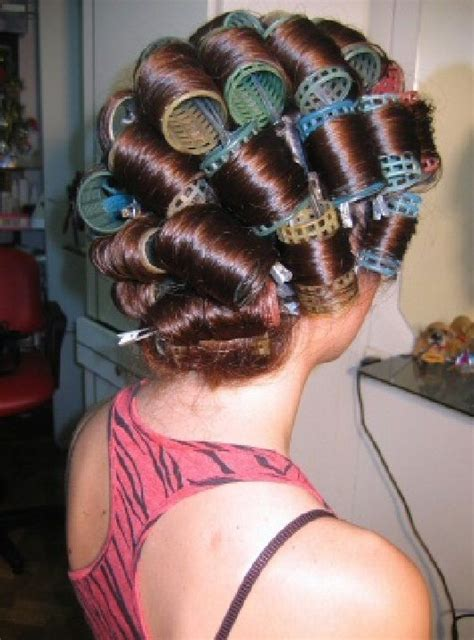 she set his hair in curlers 506 best femme hair boi s images on pinterest rollers in