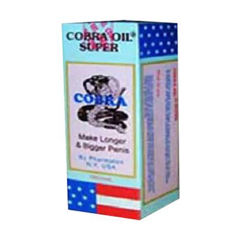 Minyak Cobra jual cobra minyak pembesar permanen harga kualitas terjamin blibli