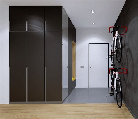 bike storage for small apartments home designing relaxing color schemes in 3 efficient