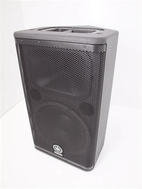Speaker Aktif Yamaha Dsr112 ex demo yamaha dsr112 active pa speaker whybuynew