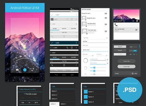 design android application ui 24 exles of ui design psd ai vector eps