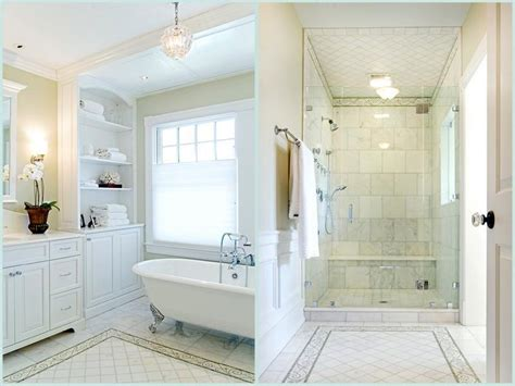 White Master Bathroom Ideas by Bathroom Master Bath Showers Ideas White Theme Master