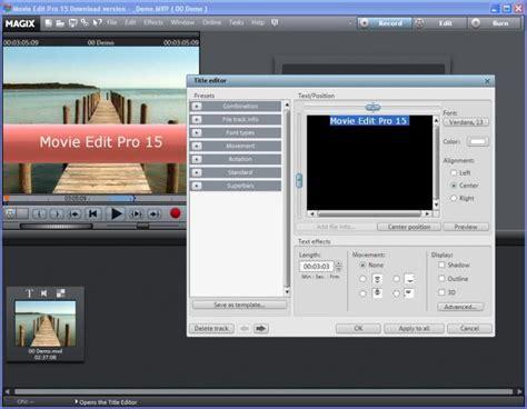 magix edit pro templates magix edit pro 17 hd v10 0 0 1 azchipa