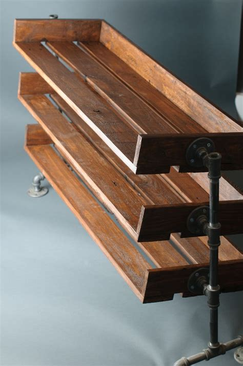 diy firewood rack pipe handmade reclaimed wood shoe stand rack organizer with pipe stand legs shoe rack pallets