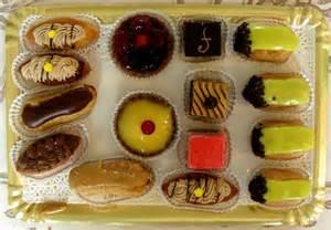 French desserts petit four the mini dessert