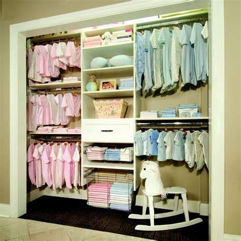 Nursery Closet Ideas by Most Organized Baby Closet I Ve Seen For When I One Day Babies