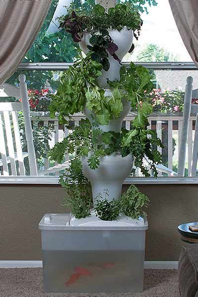 aquaponic vertical growing system foody garden towers
